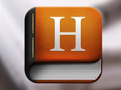 手机图标UI设计 - 书本