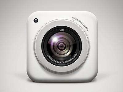 相机图标icon设计
