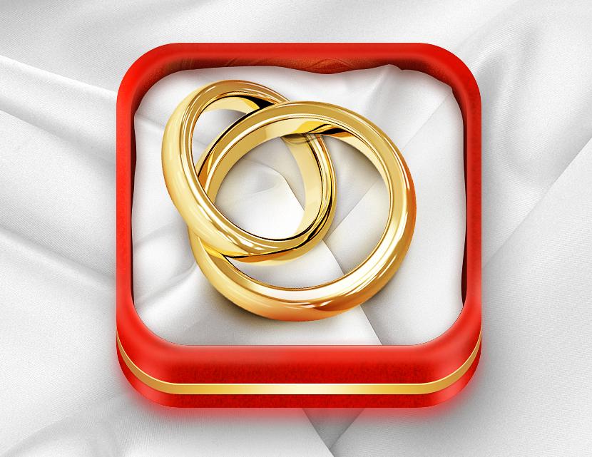 戒指icon图标设计欣赏