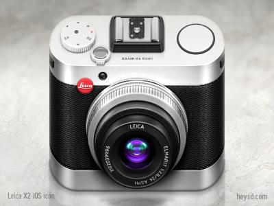 相机图标设计欣赏(四)