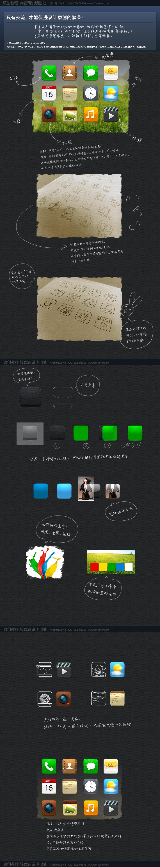 为用户体验而做图标设计(原创教程)