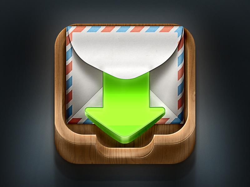 iOS邮箱图标UI设计