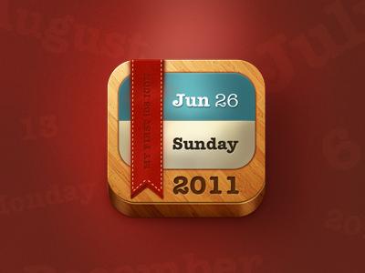 日历icon设计