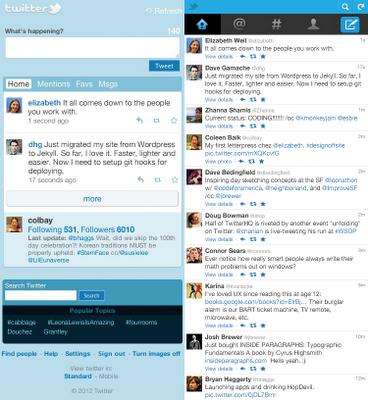 Twitter移动端全面改版,更好的用户体验
