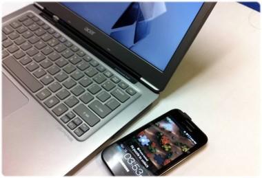英特尔开发无线充电技术 超极本可给手机充电