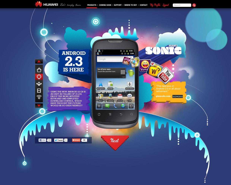 手机网站界面设计06