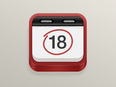 ios日历图标04