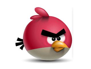 Illustrator勾绘红色愤怒的小鸟