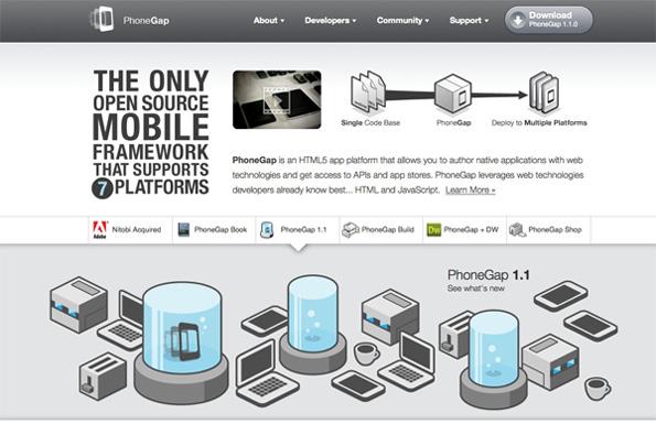 跨平台的本地应用开发工具