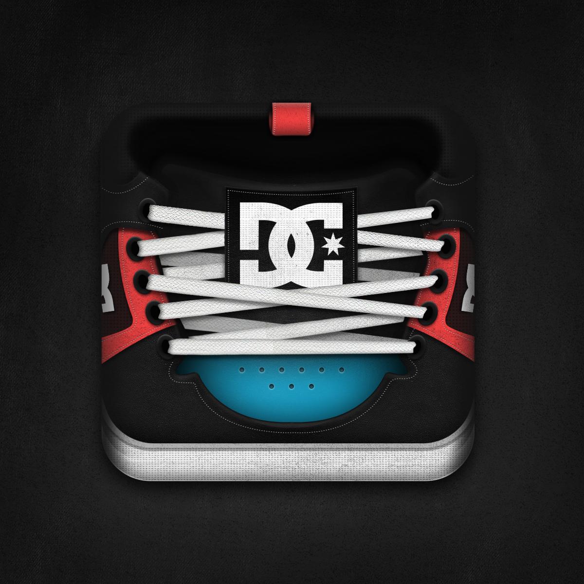 鞋子系列图标icon设计(二)