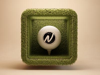 高尔夫球ios图标