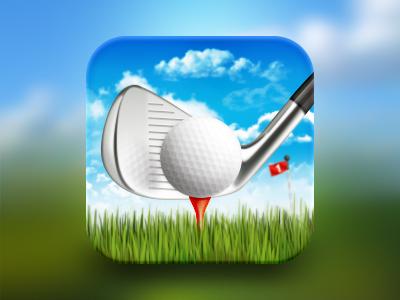 高尔夫球icon