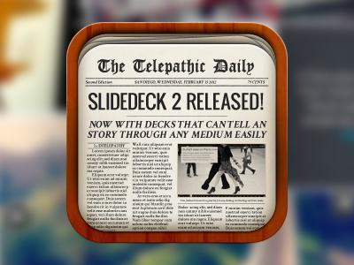 报纸iOS图标设计欣赏01