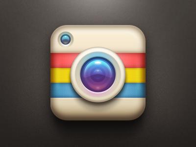 相机图标icon设计欣赏(五)
