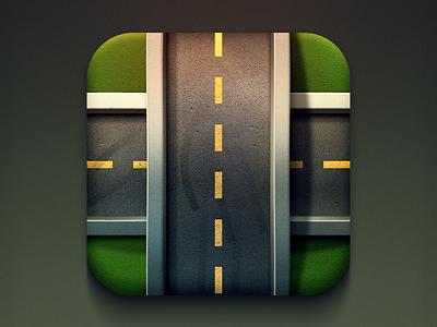 公路应用APP图标设计
