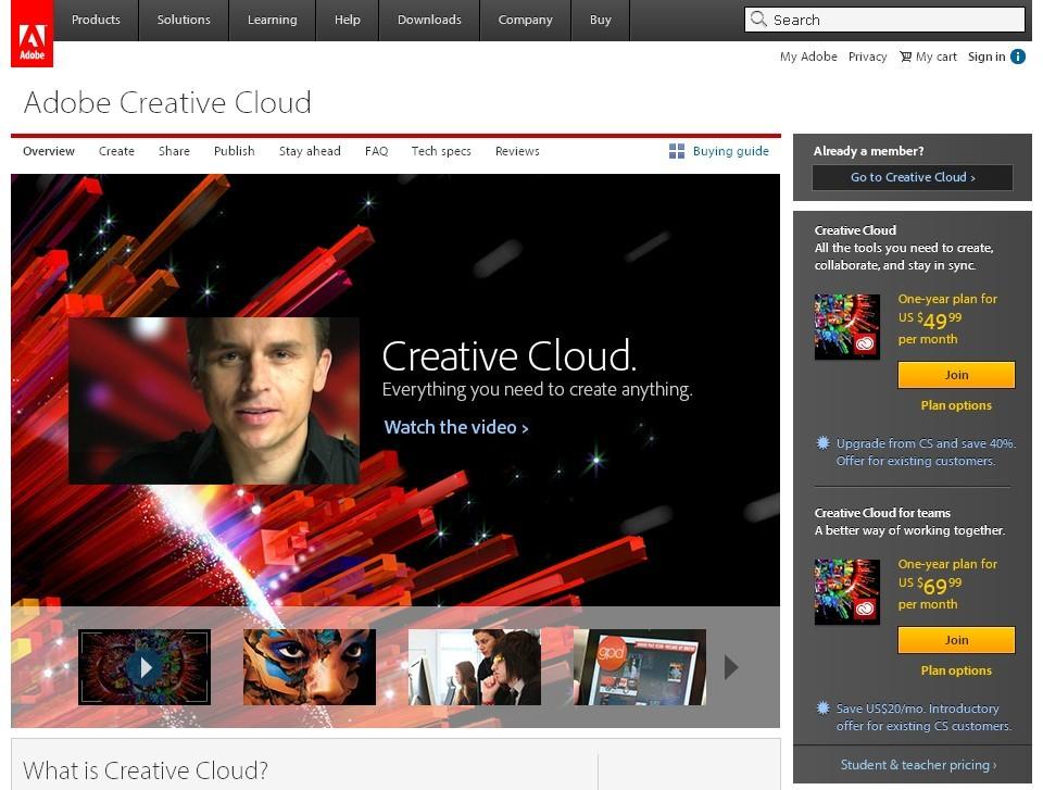 Adobe收购设计社区Behance 加速Creative Cloud社区化进程