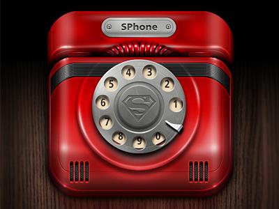 老式电话机图标