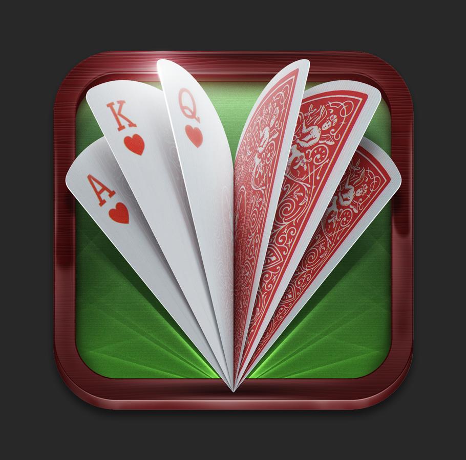 扑克牌应用图标设计