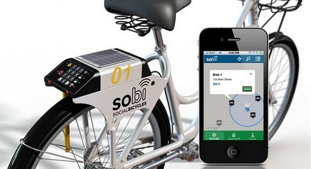 Social Bicycles:智能自行车租赁平台