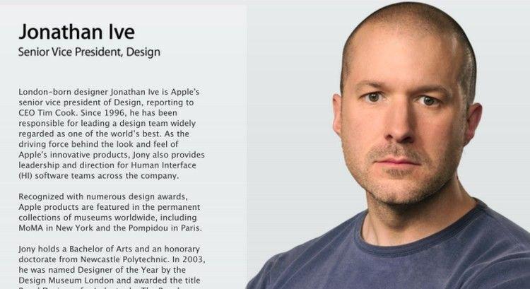 苹果官网更新乔纳森·艾维行政头衔:统领软硬件设计