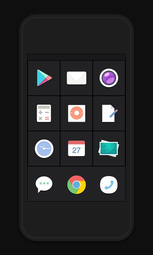 Flat Icons and Web Elements for UI Design-21