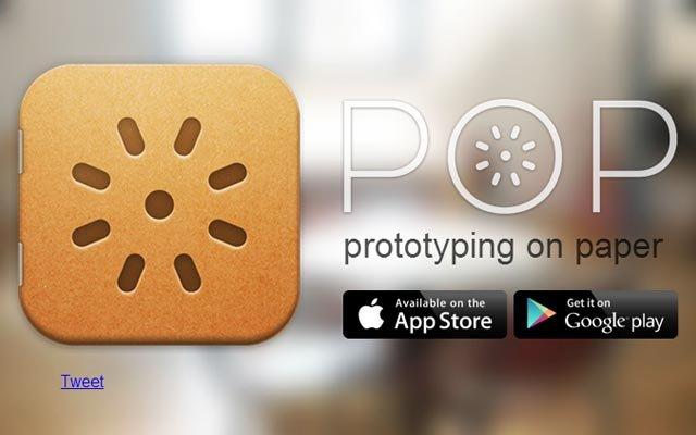 纸上原型 原型设计 原型图 交互 Woomoo POP   Prototyping on Paper pop app