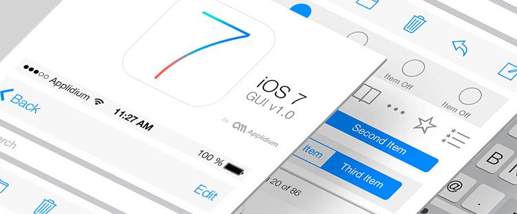 面对iOS7,设计师们该何去何从?
