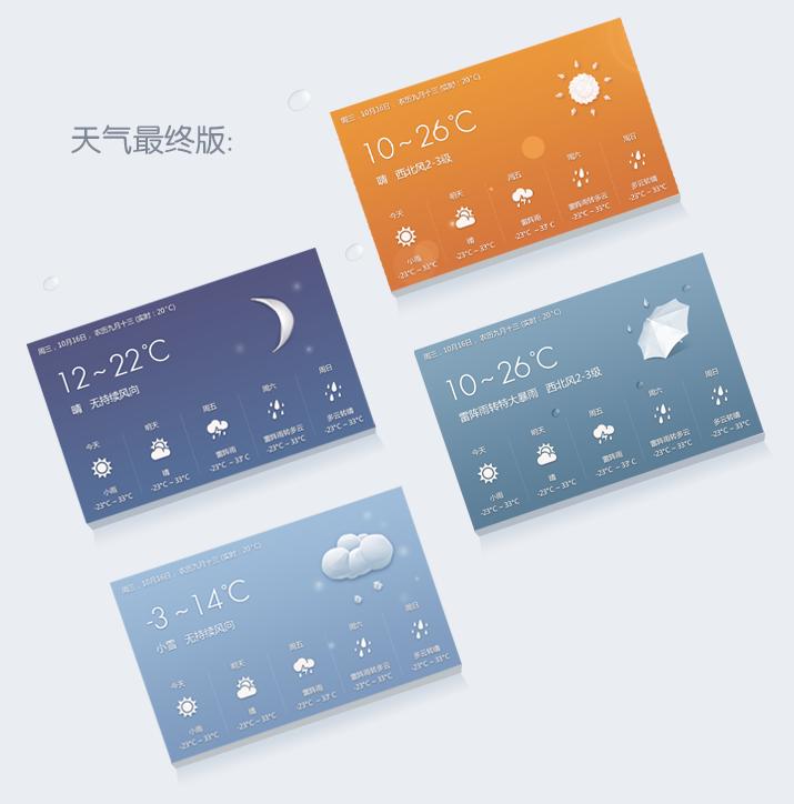 c6c27fc98633c82571d75dcb5739bbdf 天气应用中的情感化设计