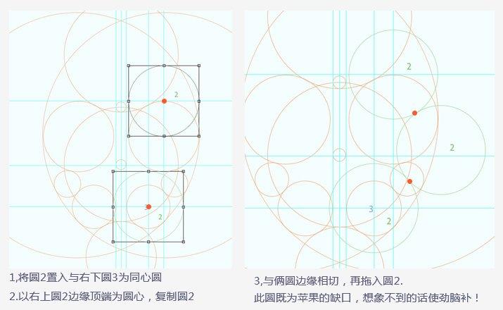 教你如何画圈圈—–标识设计中辅助参考线入门p15