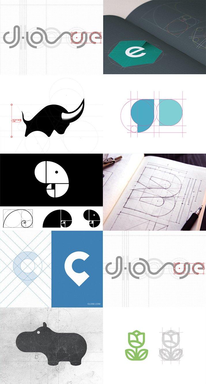 教你如何画圈圈—–标识设计中辅助参考线入门p20