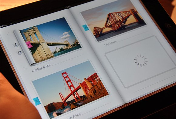 http://dribbble.com/shots/510911-Inside-Photo-album-iPad-UI-UX-iOS