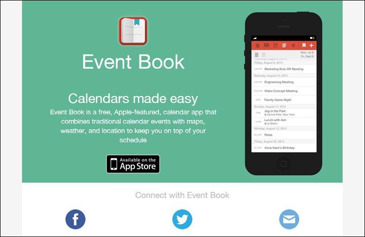 damndigital_13-beautiful-mobile-app-websites_Event-Book