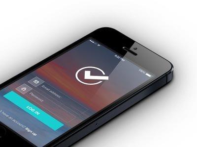 Login screen ui设计