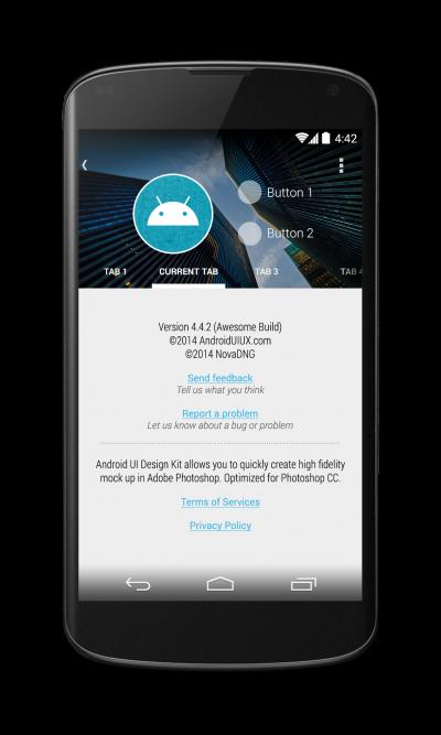 Nexus 4 Portrait with Building Blocks preview 2_framed