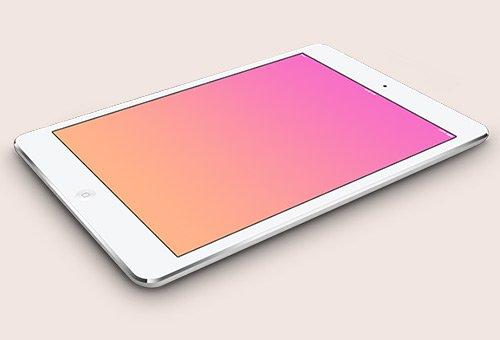instantShift - Beautiful iPad Mockup PSD Designs
