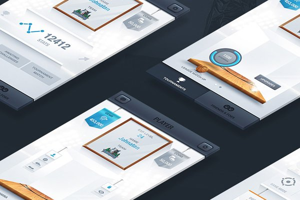 UI Design by Nemanja Milosevic