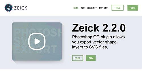 ZEICK phtoshop扩展
