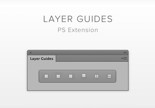 Layer Guides Photoshop插件