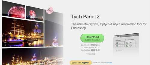 Tych Panel 2 Photoshop插件
