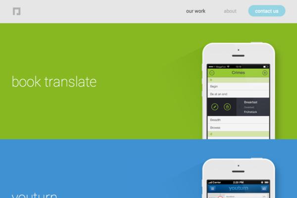 22个风格出众的手机APP官方网站!- GUImobile莫贝网 - 移动设备界面设计专业网站