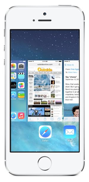 GUI mobile Multitasking