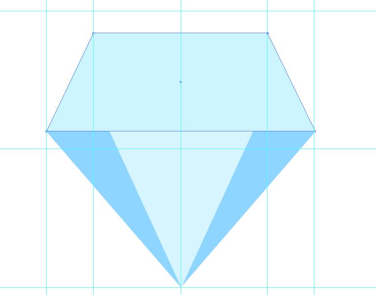 AI新手教程:教你创建精致闪亮的长投影宝石
