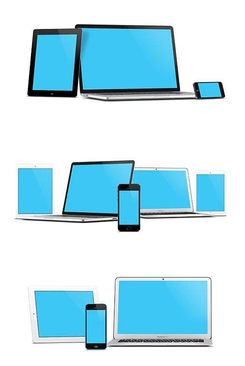 apple-screen-mockups600 模板 模板 素材