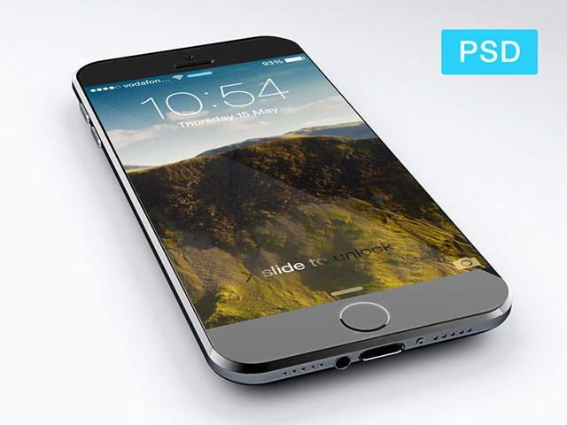 iphone6_free_psd 模板 模板 素材