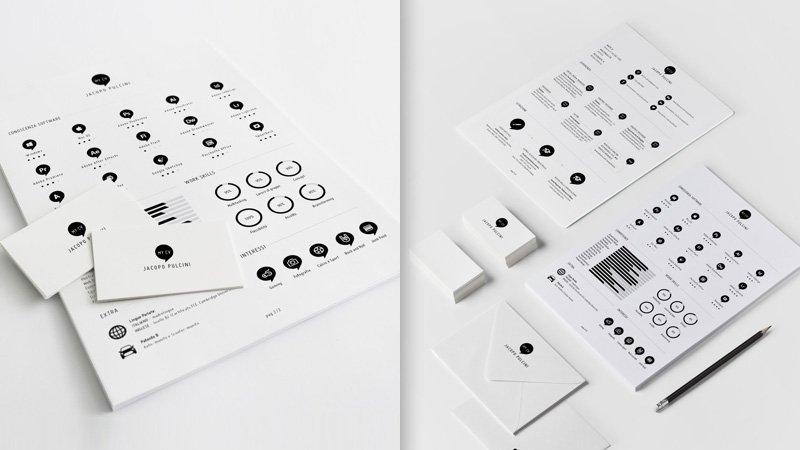 这样才有看头!如何做一张信息图风格的设计师简历?