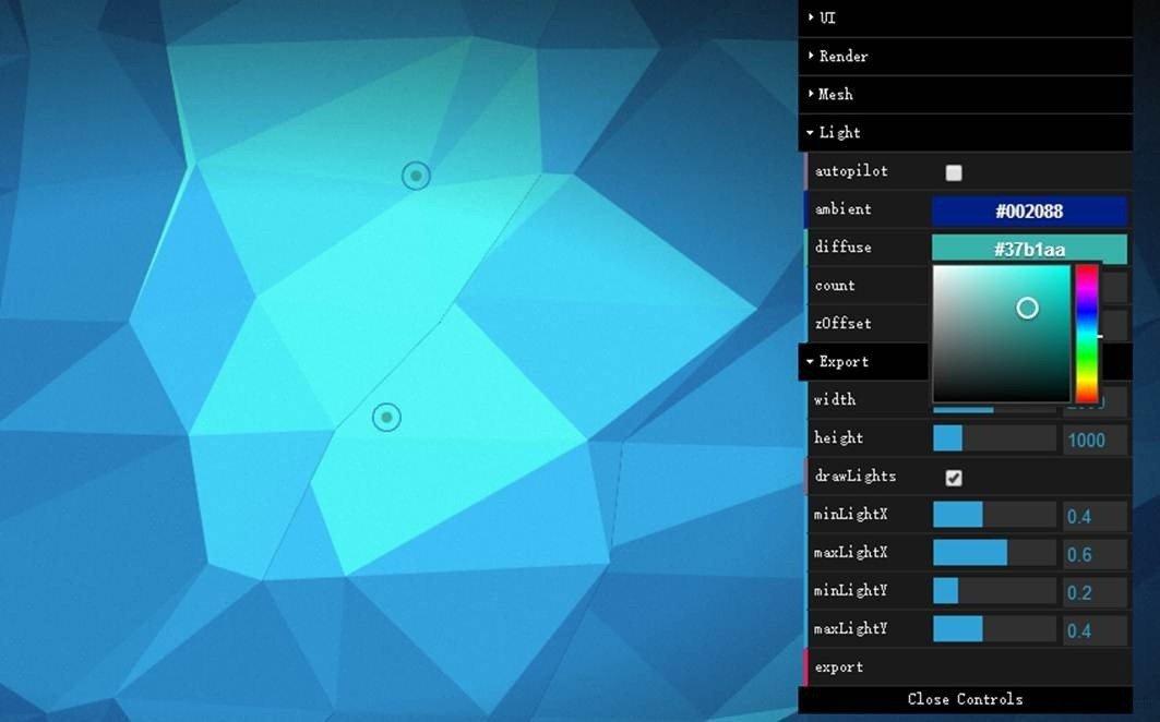设计新趋势:Low Poly 低多边形风格!多边形图像生成器集合