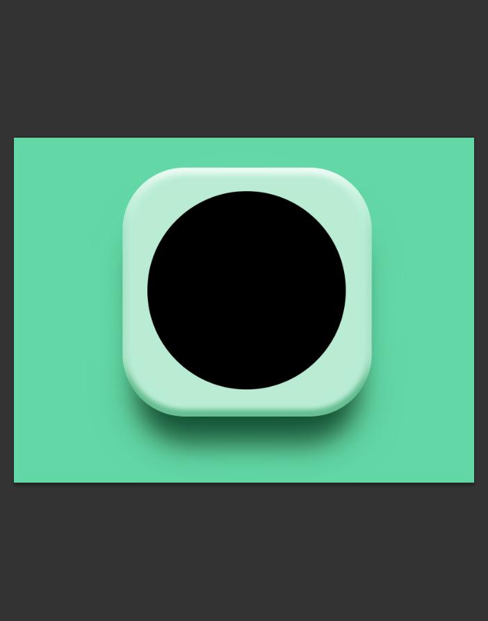 使用Photoshop图层样式绘制精致舒服的播放器图标icon2015010123