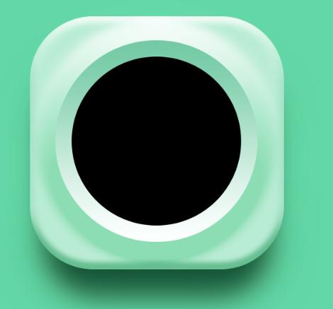 使用Photoshop图层样式绘制精致舒服的播放器图标icon201501012