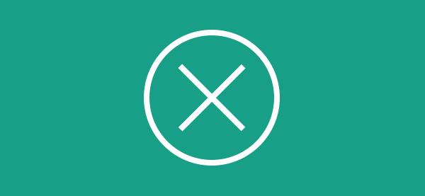 圆内的图标circle-cross-2