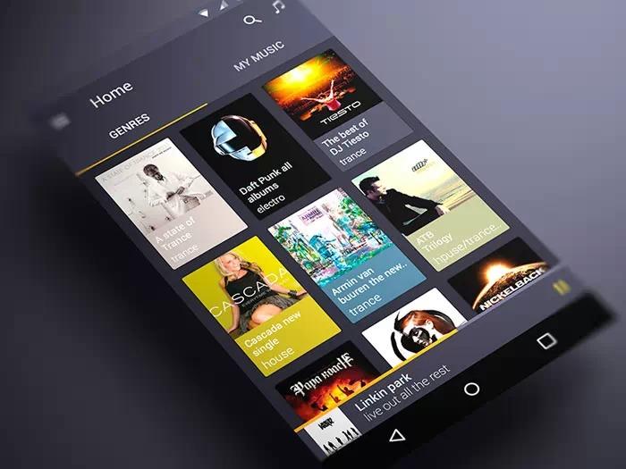 莫小宝空间_惊艳   Material Design,Android 5.0的App界面来逆袭啦! - 手机界面设计 ...